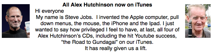 Alex  Hutchinson iTunes
