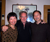 Alice Wang, Alex Hutchinson and Zhang Yong Xun